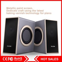 Wholesale Computers Portable Sale - Hot Sale Mixcder Speaker Subwoofer USB 3.5mm Heavy Bass Multimedia Speaker with Enhanced Sound for Laptop   PC   Computer
