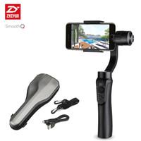 Wholesale Handheld Stabilizer - ZHIYUN Smooth Q smartphone Handheld 3 Axis gimbal stabilizer action camera selfie phone steadicam for iphone Sumsung Gopro SJCAM