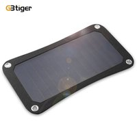 Wholesale Gps W - GBtiger 7W Sunpower Solar Panel Power Emergency Bag Water Resistant for most of 5V mobile devices phone table camera, PSP, GPS +B