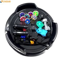 Wholesale Toy Spare Parts - Beyblade Metal Fusion 4D Freies spinner top (8 beyblades + 4 launchers +2 grips + 2 arena stadiums + more than 20 spare parts ) toy