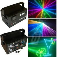 Auto strobe stage lighting online - High quality stage light equipment MW animation laser rgb w full color laser show online