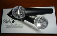 micrófono 58lc al por mayor-Top versión de la calidad ENVÍO LIBRE NUEVO MARCA sm 58lc de alta calidad! micrófonos con cable portátil micrófono de karaoke
