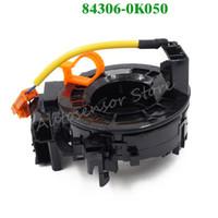 cable espiral toyota al por mayor-Alta calidad 84306-0K050 Airbag Reloj Primavera Reloj automático Primavera Cable espiral para Toyota Corolla Camry Yaris