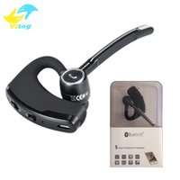 Wholesale Highest Number - high quality V8s Bluetooth earphone V4.0 Business Stereo Earphones With Mic Wireless Universal Voice Report Number Handfree earphone