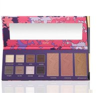 Wholesale Cheapest Prices - 2017 New In stock Tarte eyeshadow Empower Flower High-Performance Naturals Clay Collector's Palette 11 colors Cheapest price
