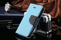Luxo Lychee PU magnético Flip Leather Phone Case para iphone7 / 7plus / 6 / 6s Slot Wallet Holster Back Cover com cartão