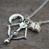 colar argent venda por atacado-20 pcsAllison Argent (Teen Wolf) Inspirado colar Visão 2 jóias de prata antigo jóias