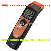 Wholesale SPD201 Digital Oxygen meter O2 meter gas analyzer Gas Detector alarm O2 Monitor Gas Tester Oxygen Concentration meter