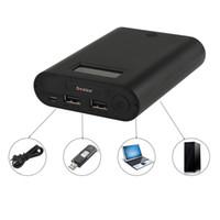 güç bankası bateria externa toptan satış-Soshine E3S Taşınabilir Güç Bankası ve Pil Şarj 18650 Pil için Çift USB ve LCD Ekran ile BLL_90E