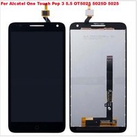 """Wholesale Panels For Mobile Phones - For Alcatel One Touch Pop 3 5.5 OT5025 5025D 5025 Touch Screen 5.5 """" Mobile Phone LCDs Panel Sensor LCD Assembly Monitor"""