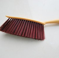 Wholesale Toilet Cameras - Solid wood handle dust brush bed clothes cleaning brush Household thicker brush Free Shipping