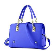 Wholesale Big Women Shoulder Bag - 2017 Summer with new big handbags women handbags one shoulder aslant bag c1-c13