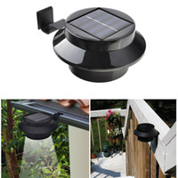 Wholesale Solar Lights Sale - 3 LEDs Solar Light Sales Outdoor Solar Powered LED Wall Path Landscape Mount Garden Fence Light Lamp