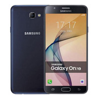 Wholesale Original Unlocked Samsung Galaxy On7 G6000 Mobile Phone Quad Core MP G LTE Android phone x720 Dual SIM refurbished Smartphone