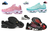 Wholesale 2017 new AIR TN Women s Running Trainers Shoes high quality Plus SE TN Tuned Quilted women running shoes Plus GS Tn ladies Trainer