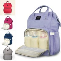 Wholesale Diaper Wipes - 2017 New Mommy Backpack Nappies Bags Fashion Mother Maternity Diaper Backpacks Large Volume Outdoor Travel Bags Organizer 12 colors