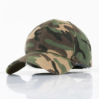 Wholesale Models Sports Hats - Camouflage Baseball Cap Outdoor Fishing Sun Hat Couple Models Female Male Sport Hip Hop Adjustable Snapback Hat Caps