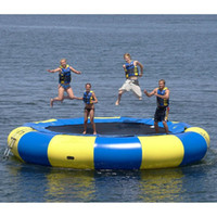 outdoor bouncers - specialty store water trampoline mm PVC inflatable trampoline or inflatable bouncer outdoor game summer water toy water park