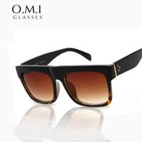 Wholesale Black Kim - Kim Kardashian Sunglasses 2017 Lady Oversized Square Retro Rivet Glasses Celebrity Cat Eye Vintage Woman's Sunglasses Tom Female Oculos