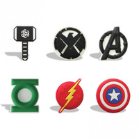 Wholesale Avengers Party - MOQ=100PCS Avengers Cartoon PVC Blackboard Magnetic Stick,Fridge stickers,Lovely Blackboard Magnets,For Students' Gifts Party