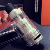Wholesale E Cigarettes Refills - Geekvape Ammit RTA 22mm Diameter Geek Vape Rebuidable Tank Atomizer 3.5ml Top Refilling RDTA E Cigarette with retail box DHL FREE