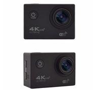 Wholesale Sport Camera Display - 1PCS RF 2.4 Remote Control 4K 30FPS Sport DV H12R 30M Waterproof Action Camera WIFI Control 2.0'' Display Sport Camera fine retail packag