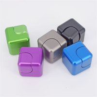 Wholesale 2017 Upgrade ABS Fidget Cube Spinner Fidget Square Finger Cube Decompression Anxiety Toys Beyblade Anti Stress Fidget Toys dhl