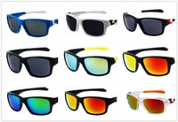 Wholesale mixed plastic charms - New Mirror Jupiter Reflective Sport Skateboarding Unisex Punk Colorful Outdoor Charm Windproof Travel Goggle Glasses Sunglasses eyewear 9135