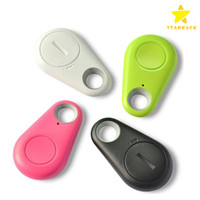 Wholesale Wireless Key Finder Wholesale - Wireless Bluetooth Anti-Lost GPS Tracker Alarm iTag Key Finder Voice Recording Selfie Shutter For ios Android Smartphone with Retail Box