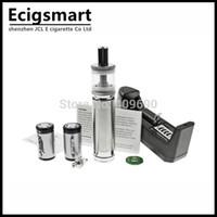 Wholesale Ecig Telescoping - Wholesale- k103 Mech MOD E Cigarette Kits Stainless Steel K103 with 900mAh 18350 Battery Original K103 Mechanical Chip Telescope Kamry ECig