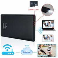 Wholesale camera power box - Ultra Thin H8 WiFi IP Camera Power Bank Wireless Mini Camera Motion Detection Battery Security Camcorder with Retail Box