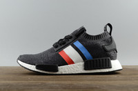 Wholesale cheap free runners for sale - 2018 Cheap New NMD R1 Runner PK Primeknit Men s Women s Running Shoes Fashion Running Sneakers for Men and Women