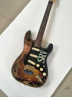 Wholesale Electric Guitars Relic - 10S Custom Shop Limited Edition Stevie Ray Vaughan Tribute - SRV Number One No.1 Relic made by hand Electric Guitar