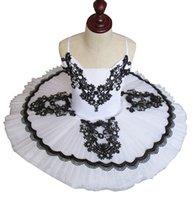 Wholesale Black Sequin Skirt Small - Tutu Professional Ballet Skirt Adult Costume Tutu Skirt Children Sling Small Black and White Swan Lake Grading Service