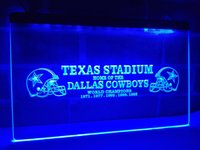 LD491b- Dallas Cowboys LED Neon Light Sign