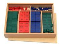 juguetes de matemáticas al por mayor-Juguete de madera para bebé Montessori Maths Teaching Aids Stamps Juego Early Educational Toy Baby Gifts