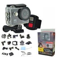 gopro wifi remote großhandel-H9R 4 Karat Action Kamera Ultra HD 1080 P WiFi Sport Wasserdichte DV Helm Camcorder 2,4G fernbedienung Gopro Stil