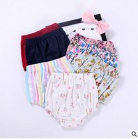 Wholesale Cheap Diapers Wholesale - Summer Baby Shorts Leggings Underwear Baby Cotton Diaper Pants Girls Floral Printed Dress Tights Cheap Light Breathable Underwear
