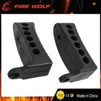 "Wholesale Butt Padding - FIRE WOLF Black Mosin Nagant Rifle Stock 1"" Recoil Rubber Buttpad M44 M38 Butt Pad 91 30 Type 53 of Hunting Gun Accessories"