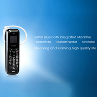 siyah cep telefonu bluetooth toptan satış-Bluetooth kulaklık BM50 Unlocked Mini Telefon Bluetooth Kulaklık Az Cep Telefonu Bluetooth Dialer Kulaklık Cep Cep Telefonu siyah beyaz