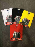 Wholesale Bear Men Costume - M171 2017 new bear Luxury Men Mon Brand British t shirt Summer Short Sleeve tshirt marque luxe homme Franch men Costume Clothing Shorts