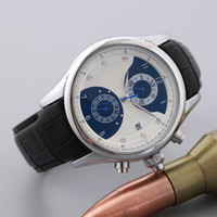 Wholesale Mm Machines - 2017 New Luxury Brand UB Top Quality Wristwatch 5 the needle machine Sport Mens Watch Men's Watches Free shipping