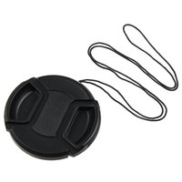 Wholesale 72mm Cap - Factory direct! Camera Lens Cap 40.5mm 49mm 52mm 55mm 58mm 62mm 67mm 72mm 77mm 82mm