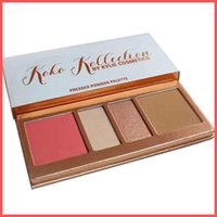 Wholesale Colors Love Wholesaler - Factory Direct DHL Free New kylie in love with Koko Kollection Eyeshadow Palette Blush Highlighter Glitte Kylie Jenner Cosmetics! 4 colors