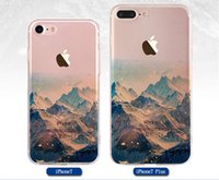 Wholesale Mos Case - Manufacturers direct iphone7 mobile phone shell, iPhone7plus mobile phone protection cover, painting gift, foreign trade silicone scenery mo