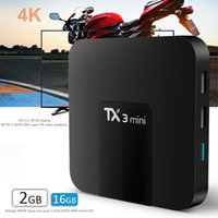 android 7.1 ott tv box tx3 mini amlogic s905w quad core KD17.3 totalmente carregado 1GB / 2GB 16GB 4k streaming media player