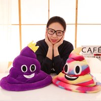 Wholesale R 21 - Plush Pillow Shits Funny Emoji Hat Halloween Women And Men Luminescence Shits Cap Creative Christmas Present 21 95ld C R