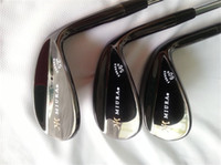 "Wholesale Cover Wedges - Brand New MiURA Wedge MiURA Golf Wedge Golf Clubs 52"" 56"" 60"" Degree Steel Shaft With Head Cover"