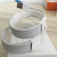 Wholesale Iphone Charger Cable Retail Package - New With retail package boxes For A++++ Original OEM Quality 1m 3ft USB Data Sync Charger Cable for iphone 5 6 7