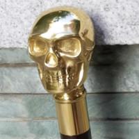 Wholesale 3m Film China - Érable nord-Américain cuivre crâne canne canne gentleman film props un cadeau d'anniversaire cadeau